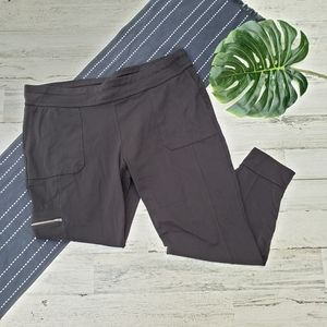 Athleta  Metro Jogger Pants Black Zipper Pocket 1X